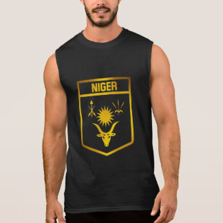 Niger Emblem Sleeveless Shirt