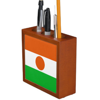 Niger Flag Desk Organizer