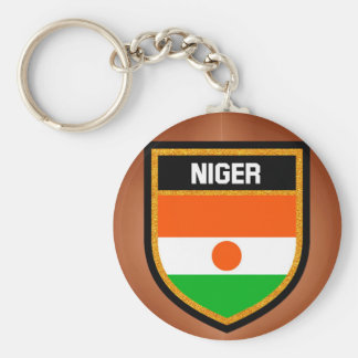 Niger Flag Keychain