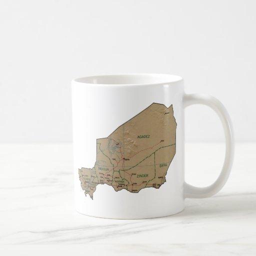 Niger Flag ~ Map Mug