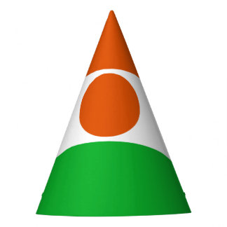 Niger Flag Party Hat