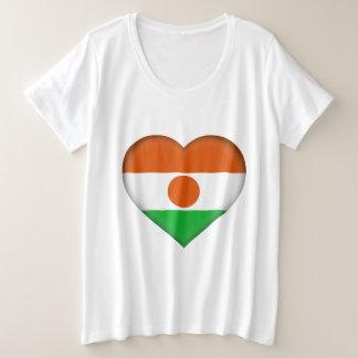 Niger Flag Plus Size T-Shirt