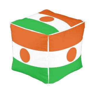 Niger Flag Pouf