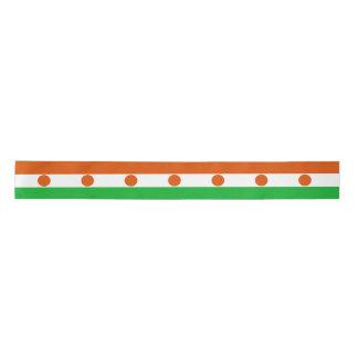 Niger Flag Satin Ribbon