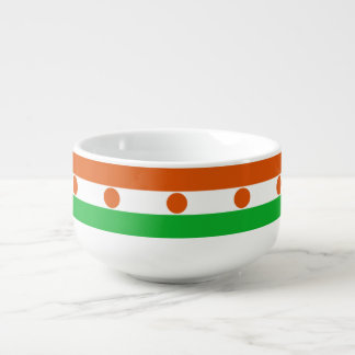 Niger Flag Soup Mug