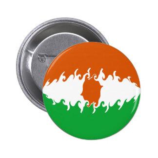 Niger Gnarly Flag Pins