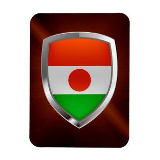 Niger Metallic Emblem Magnet