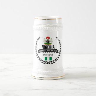 Nigeria Beer Stein