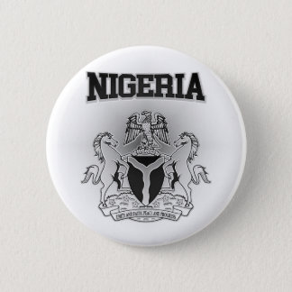 Nigeria Coat of Arms 2 Inch Round Button