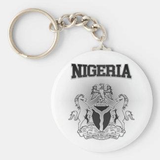 Nigeria Coat of Arms Keychain