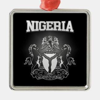 Nigeria Coat of Arms Metal Ornament