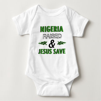 Nigeria design baby bodysuit