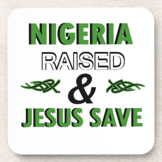 Nigeria design coaster