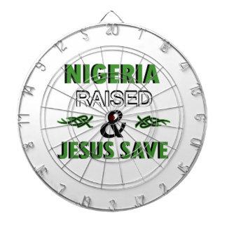 Nigeria design dartboard