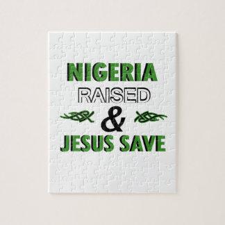 Nigeria design jigsaw puzzle