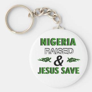 Nigeria design keychain
