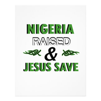 Nigeria design letterhead