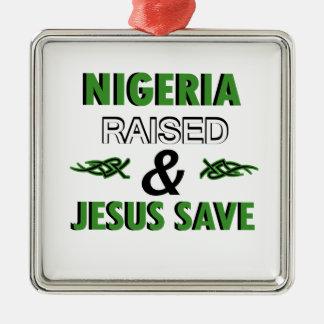 Nigeria design metal ornament