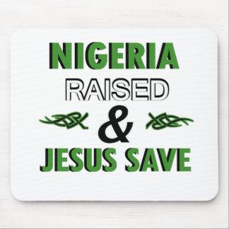 Nigeria design mouse pad