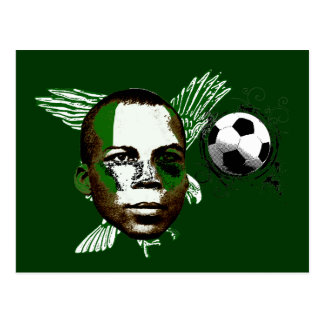 Nigeria Eagles Angola 2010 fans gifts Postcard