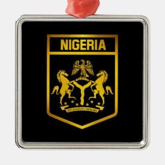 Nigeria Emblem Metal Ornament