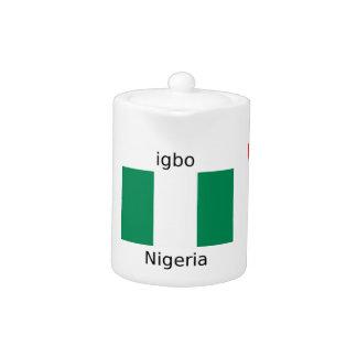 Nigeria Flag And Igbo Language Design