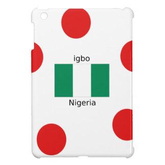 Nigeria Flag And Igbo Language Design iPad Mini Cover