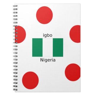 Nigeria Flag And Igbo Language Design Notebooks