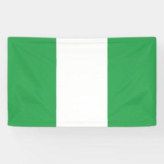 Nigeria Flag Banner