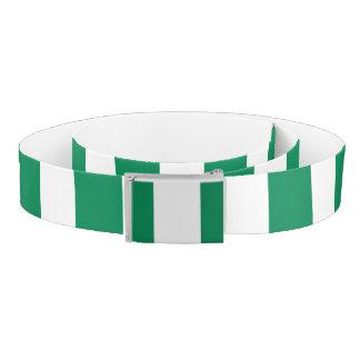 Nigeria Flag Belt