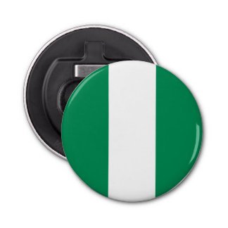 Nigeria Flag Bottle Opener