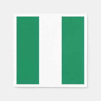 Nigeria Flag Paper Napkin
