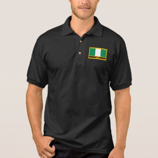 Nigeria Flag Polo Shirt