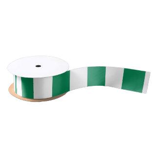 Nigeria Flag Satin Ribbon
