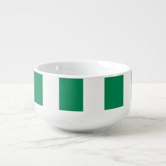Nigeria Flag Soup Mug