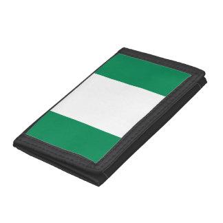 Nigeria Flag Trifold Wallet