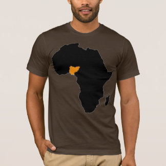 Nigeria Heart of Africa T-Shirt