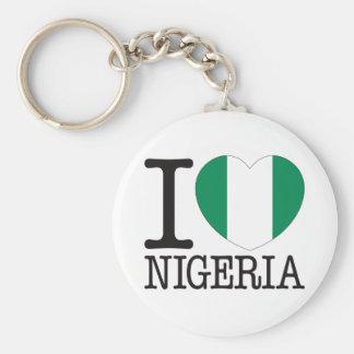 Nigeria Love v2 Keychain