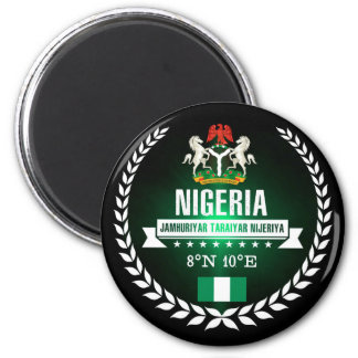 Nigeria Magnet