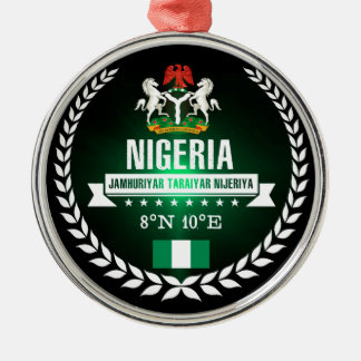 Nigeria Metal Ornament