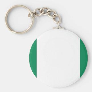 Nigeria National World Flag Keychain