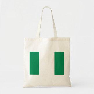 Nigeria National World Flag Tote Bag
