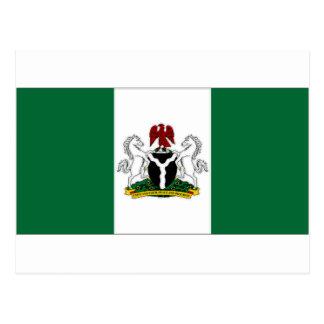 Nigeria President Flag Postcard