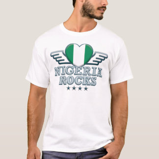 Nigeria Rocks v2 T-Shirt
