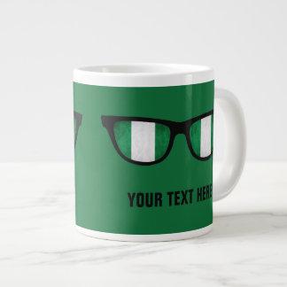 Nigeria Shades custom mugs Jumbo Mug