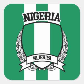 Nigeria Square Sticker