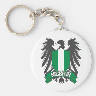 Nigeria Winged Keychain