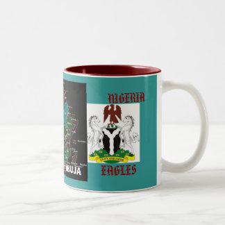 Nigeriaarms22, Nigeriaarms22, AFRICA, NIGERIA ,... Two-Tone Coffee Mug