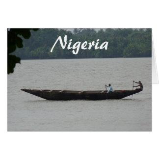 Nigerian Boat Card