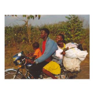 Nigerian Family Postcard